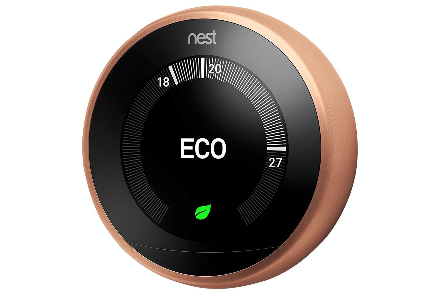 Nest Learning Thermostat 3rd Gen | Copper (2018)