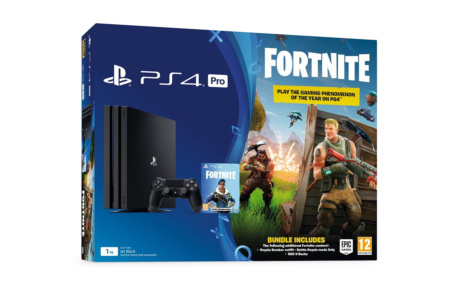 PS4 Pro 1TB Fortnite Battle Royale bundle