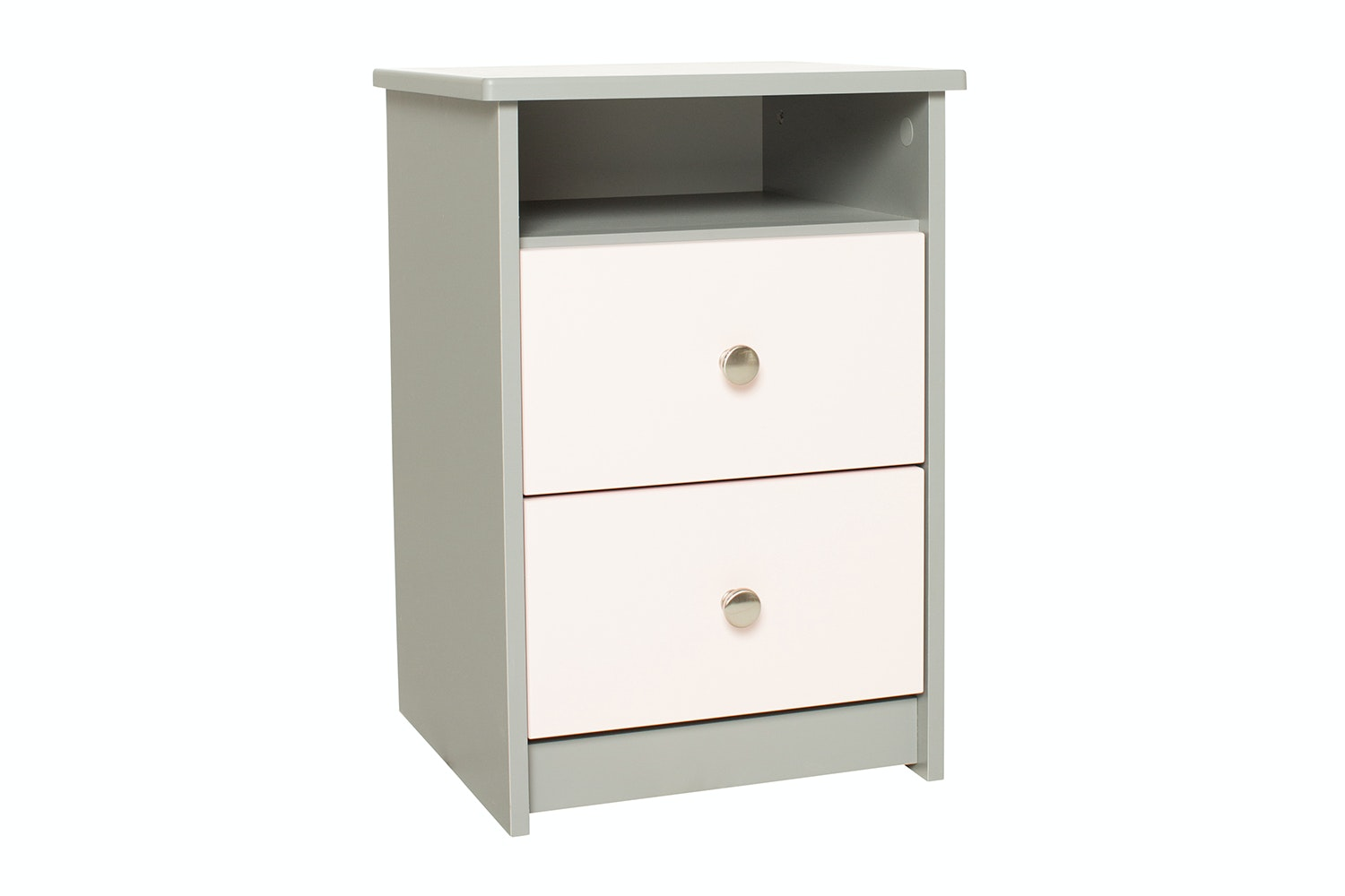 Felix Bedside | 2 Drawer & 1 Shelf