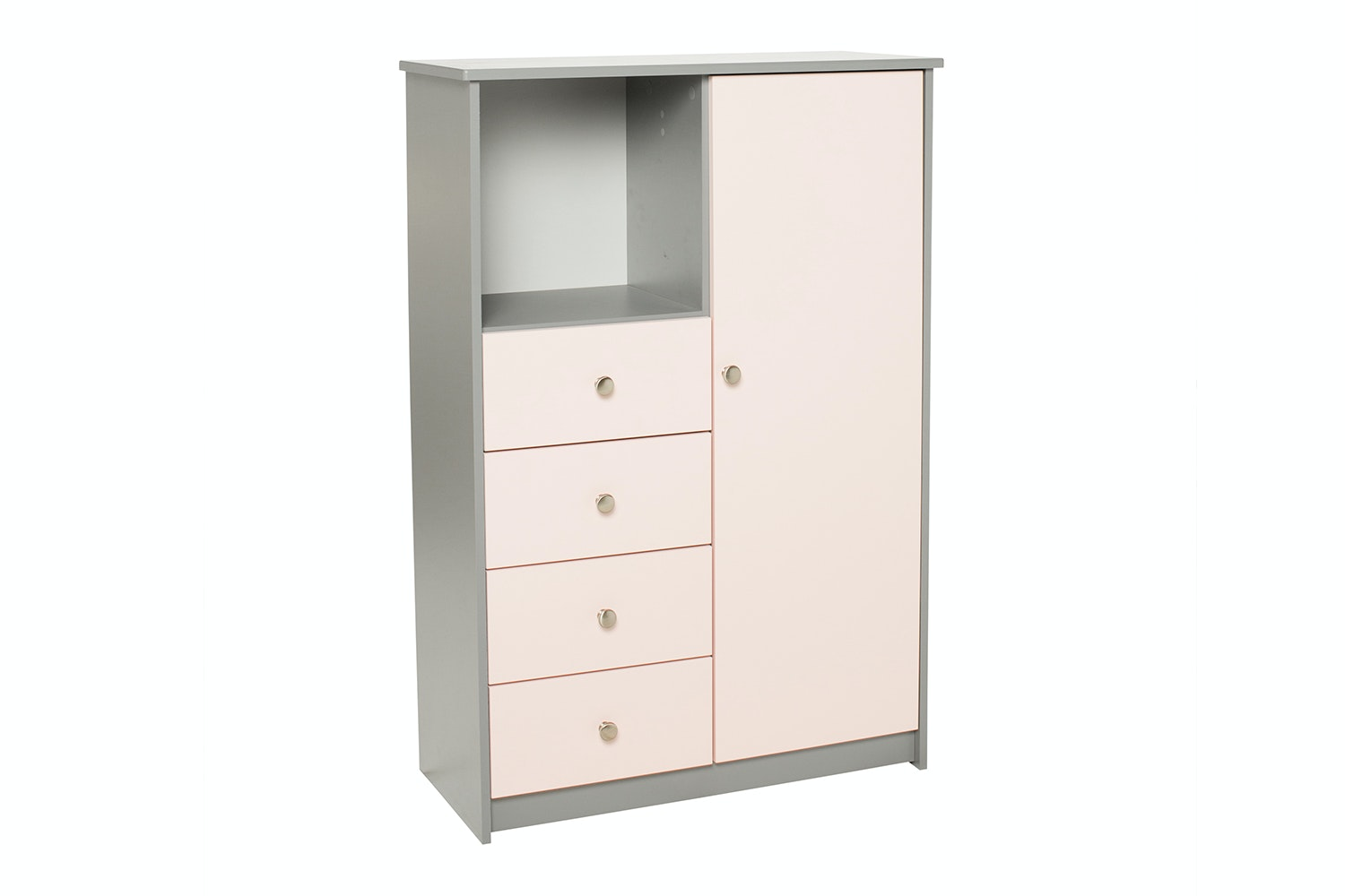 Felix Combi Robe | 1 Door | 4 Drawers