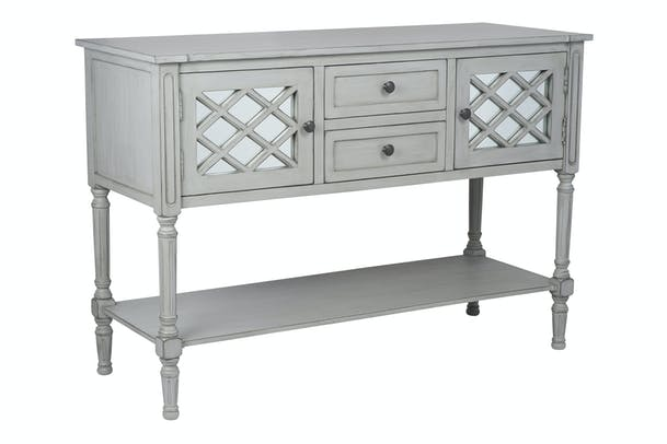 Pacific Dresser | 2 Drawer | 2 Door | Dove Grey