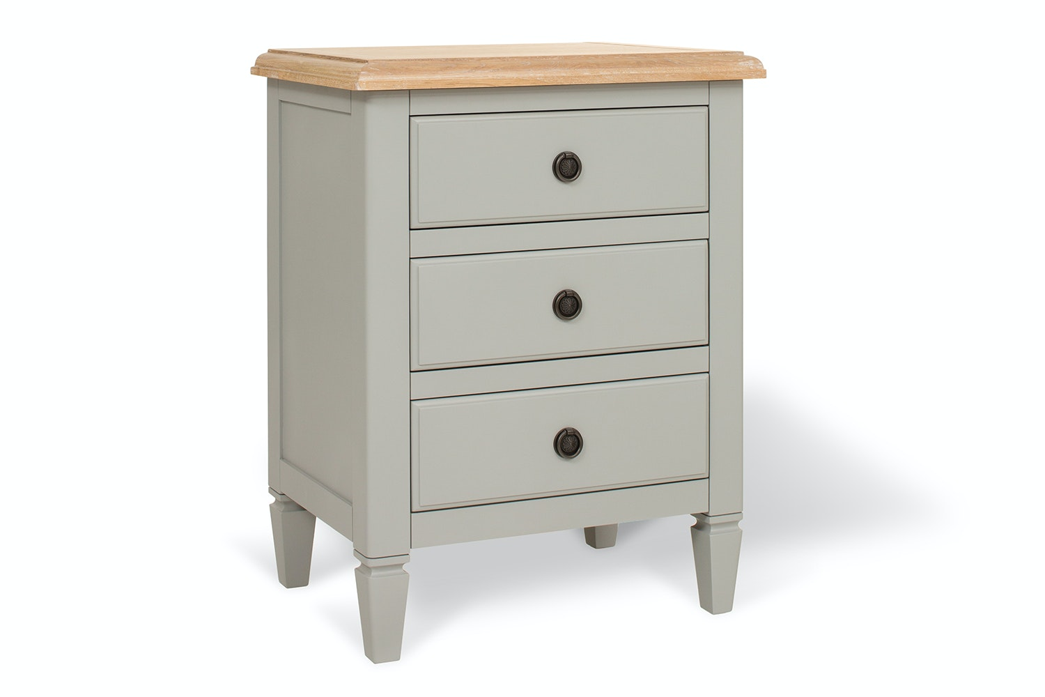 Windsor Bedside | Colourtrend | 3 Drawers