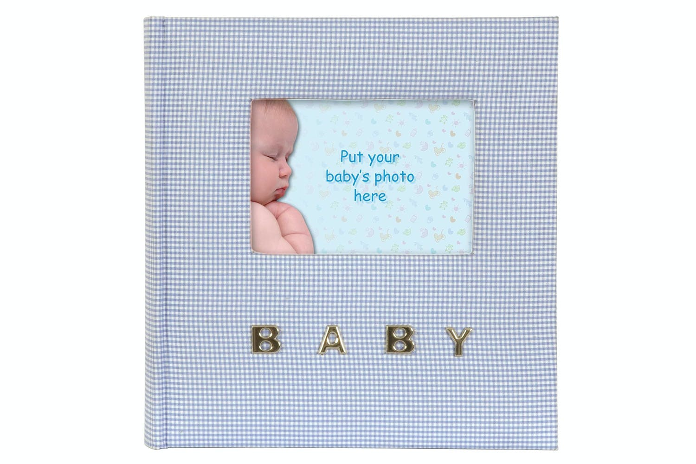 Innova Editions Gingham Baby Photo Album 4x6 Ireland