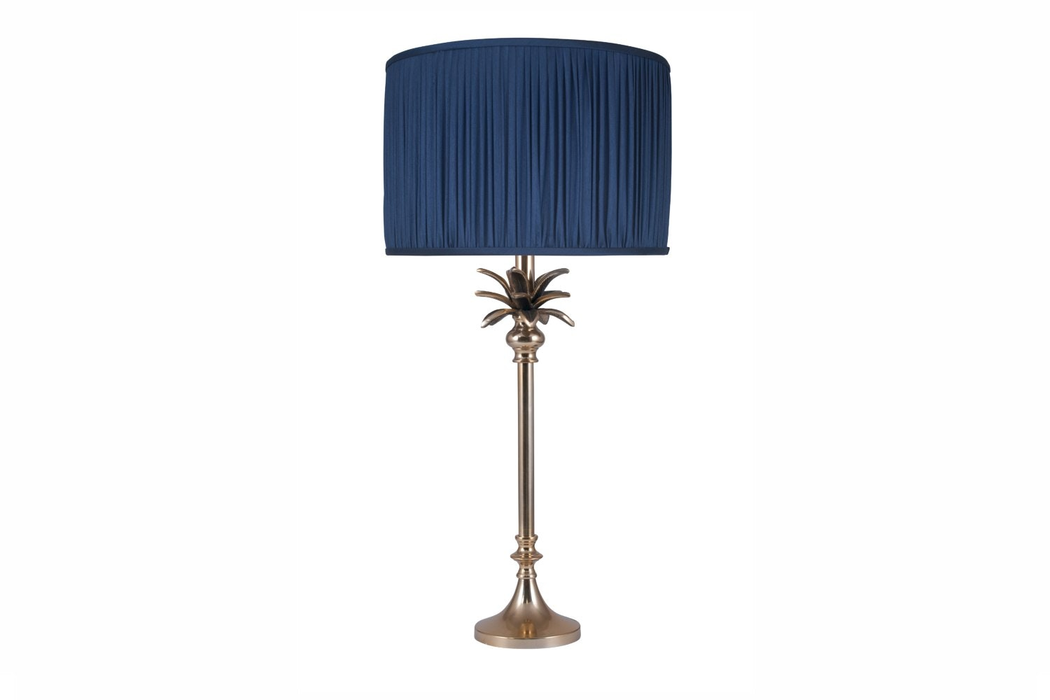 Gold Palm Table Lamp