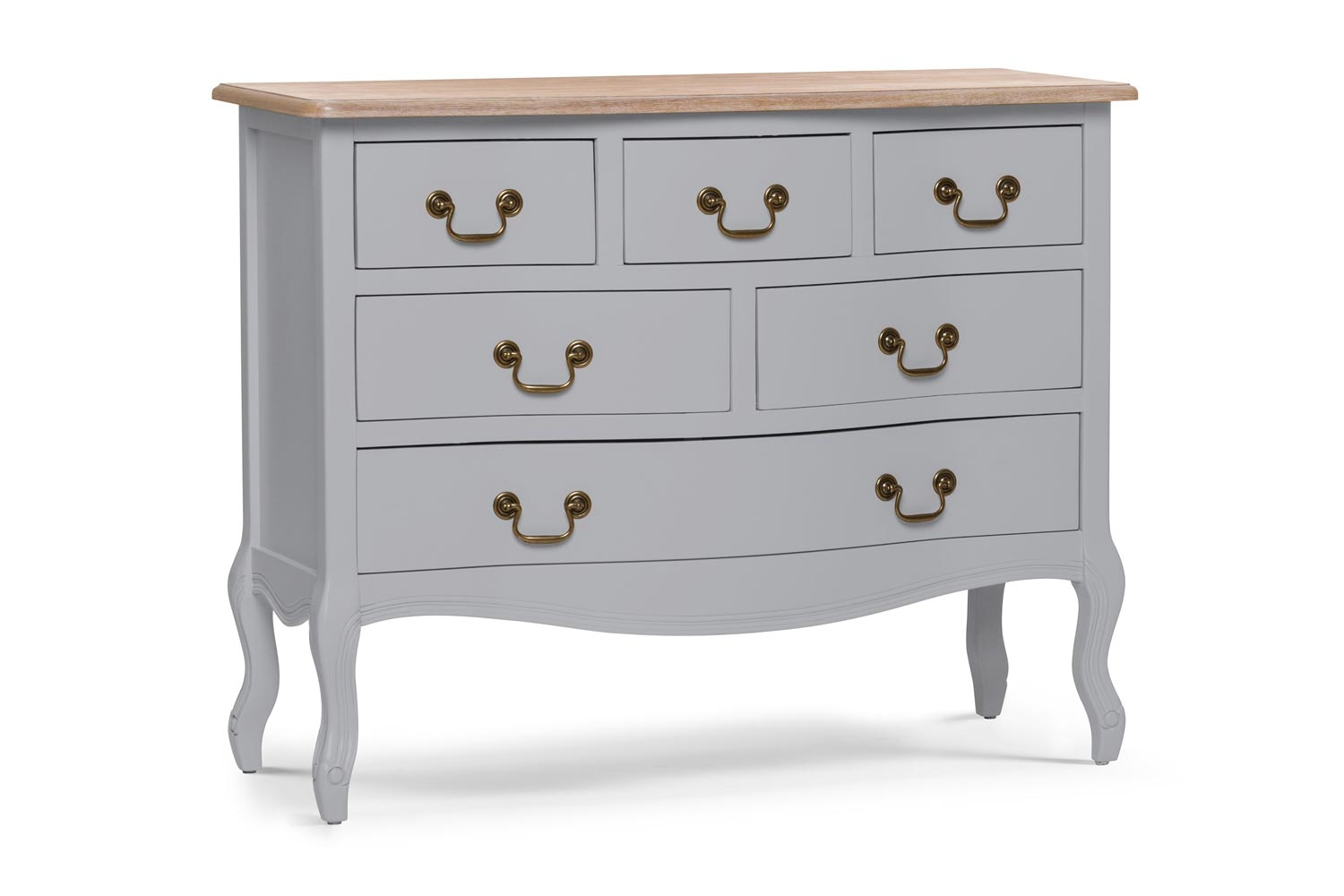 Bouvard Dresser Chest 6 Drawer | Colourtrend