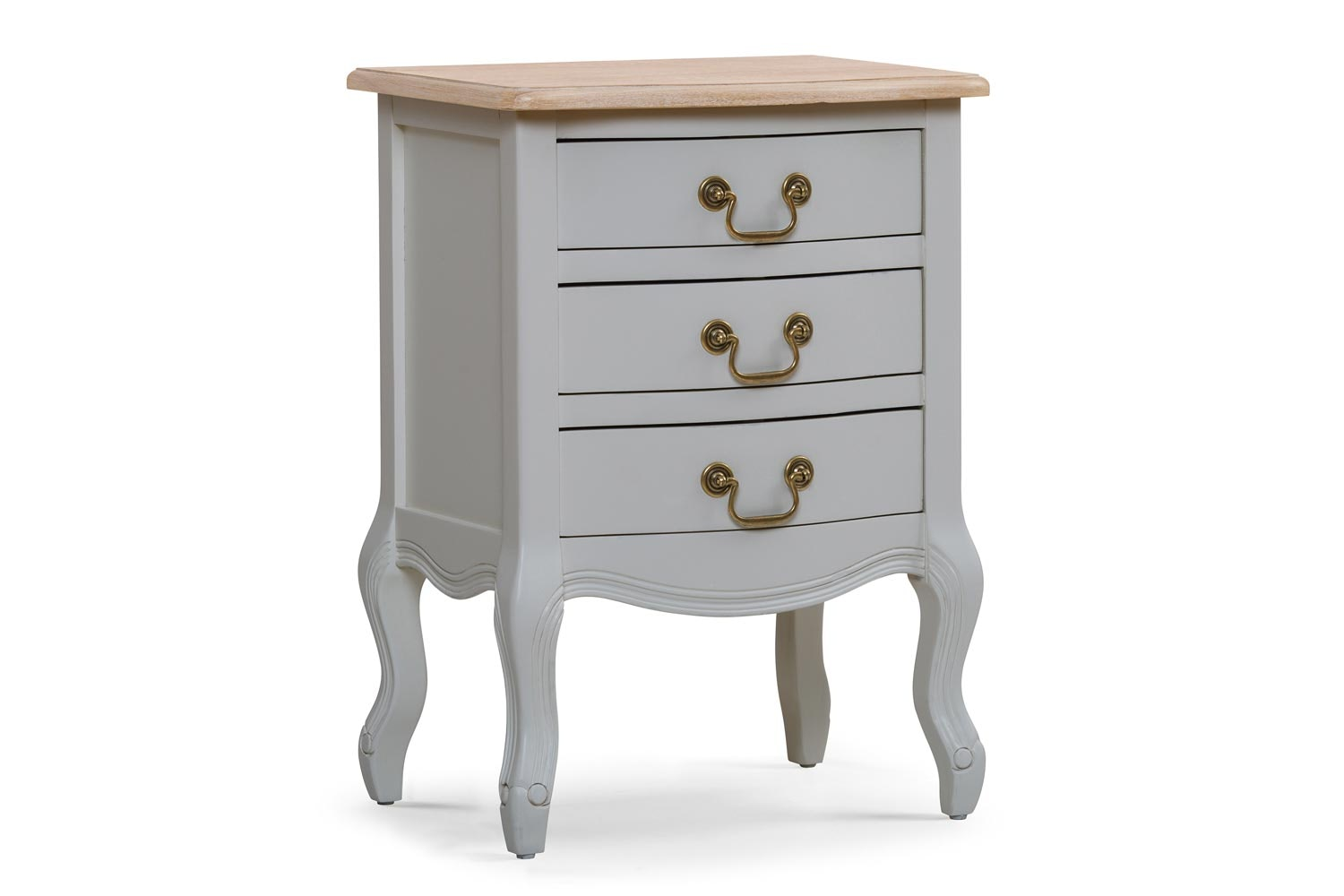 Bouvard 3 Drawer Bedside Locker | Colourtrend