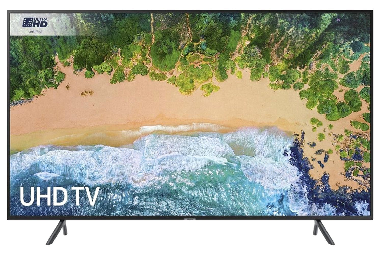 "Samsung 49"" 4K Ultra HD Certified Smart TV 