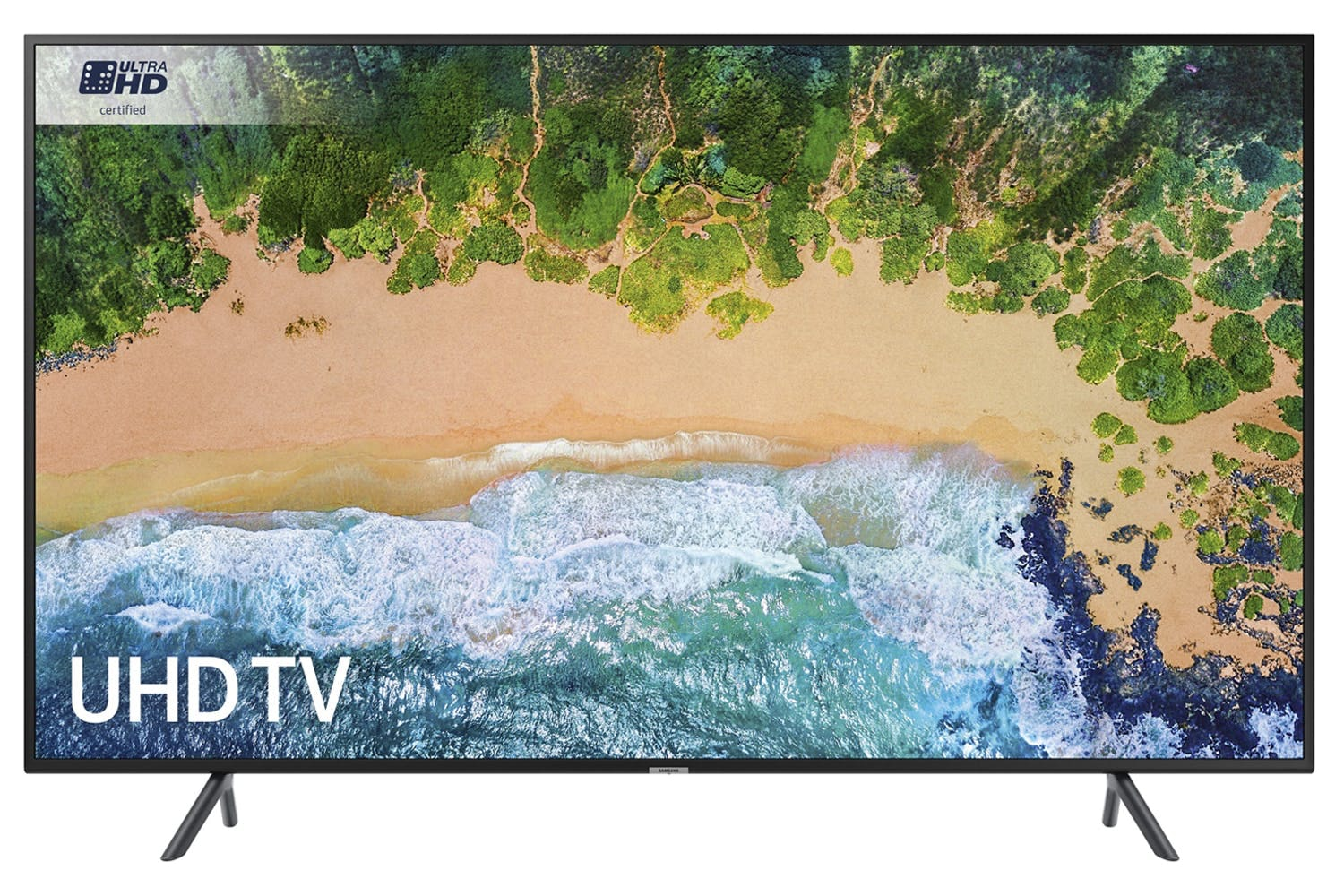 "Samsung 55"" 4K Ultra HD Certified Smart TV 