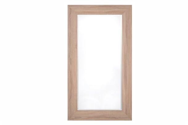 Hampstead Oak Veneer Mirror | 70x105cm