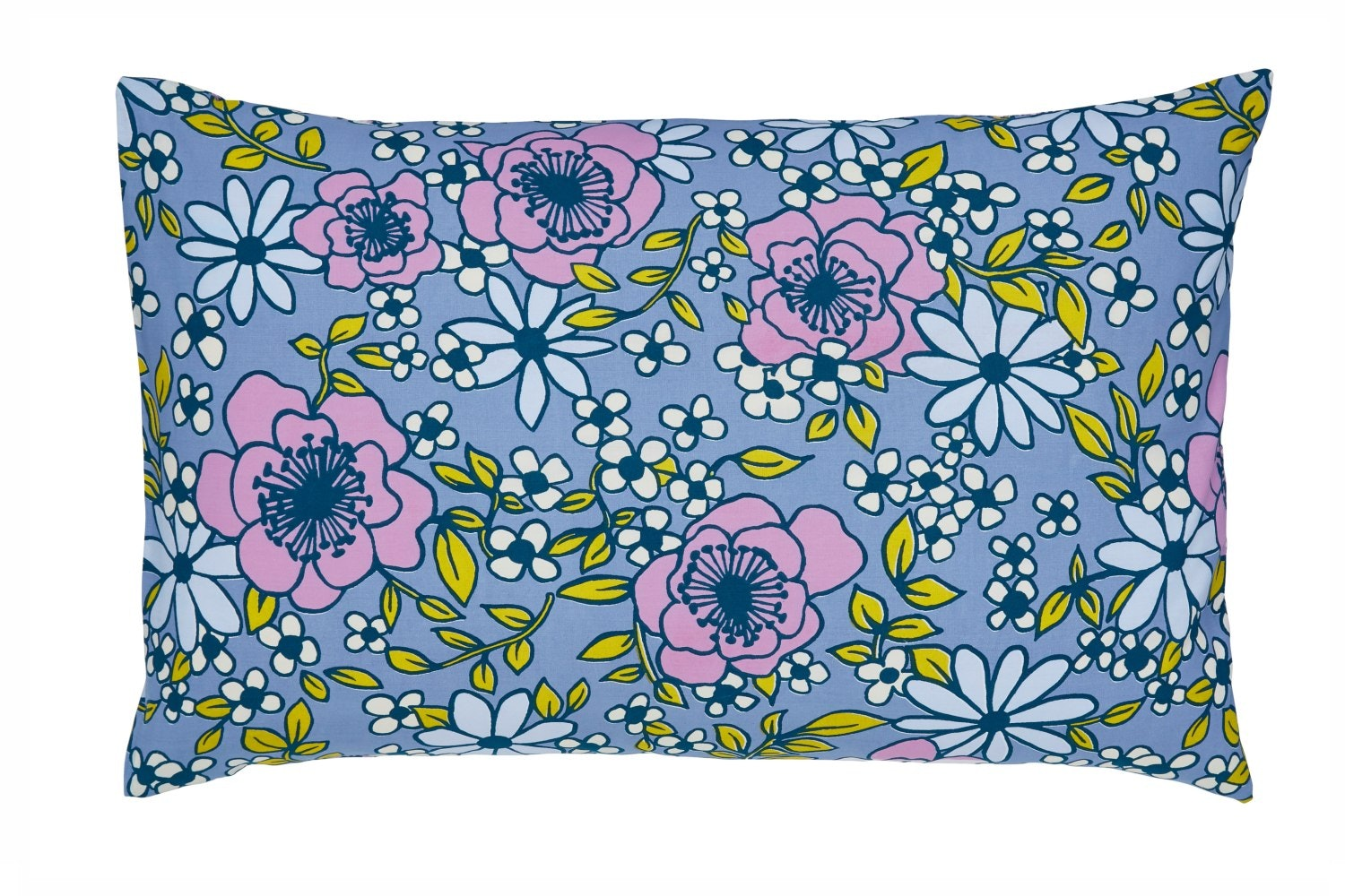 Pixie Melody Bluebell Standard Pillowcase | Pair
