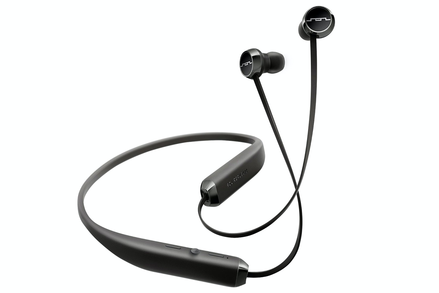 Sol Republic Shadow Wireless In Ear Headphones | Black