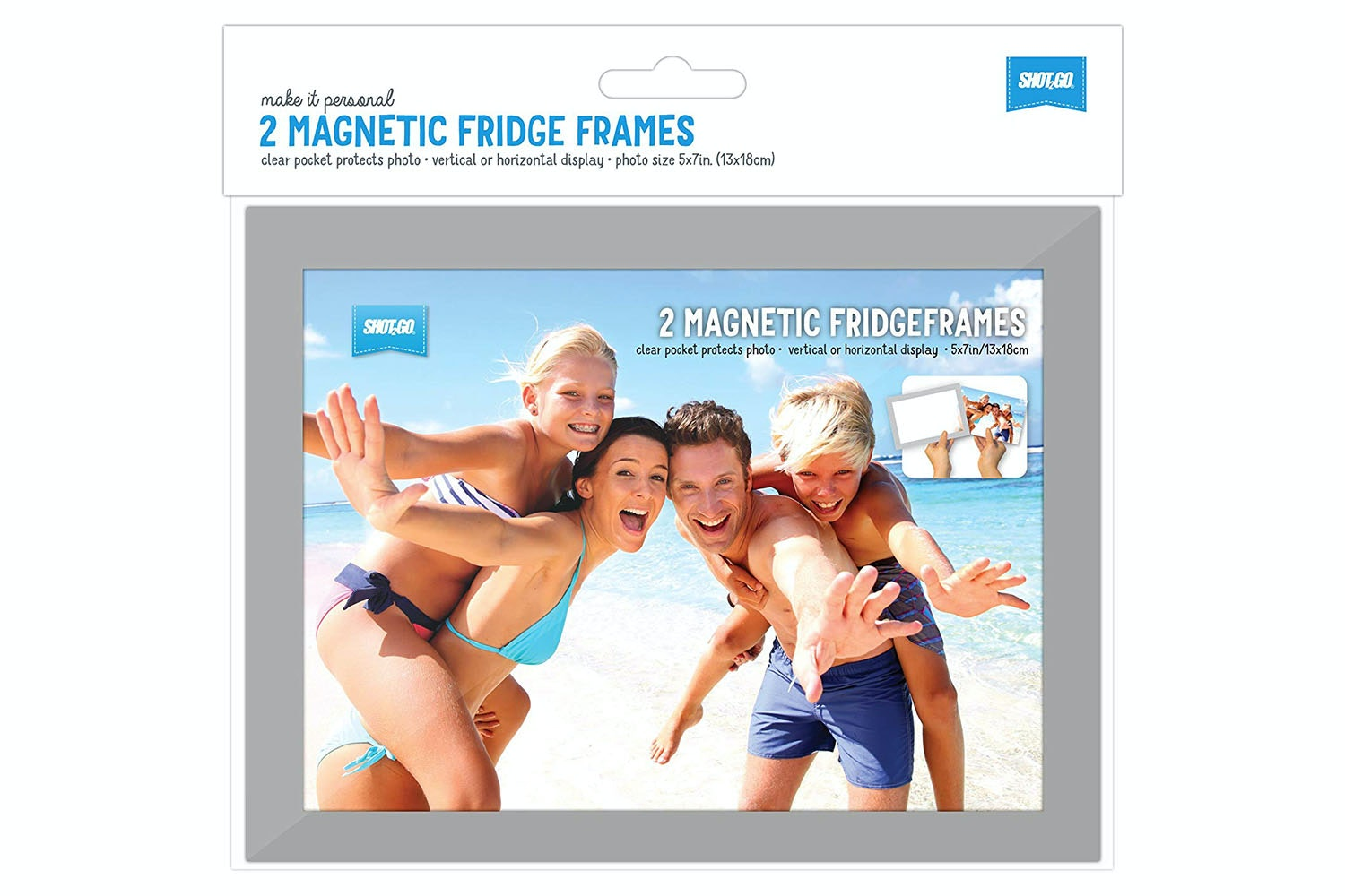 Shot2Go Fridge Frame | 5X7""