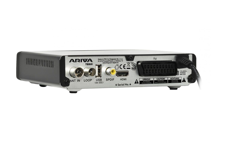 Ferguson Ariva T750i Digital Receiver