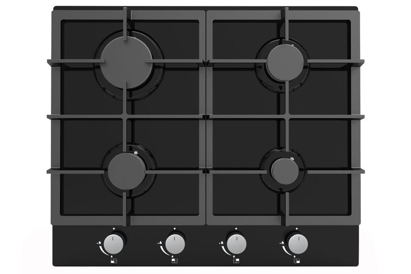 Cata 60cm Gas on Glass Hob | GOG60BK