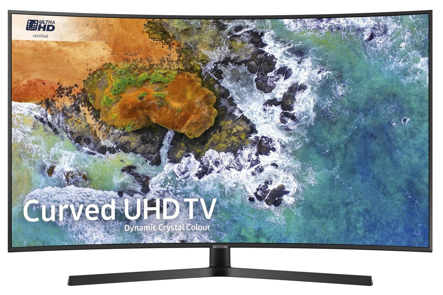 "Samsung 55"" 4K Smart Curved TV 