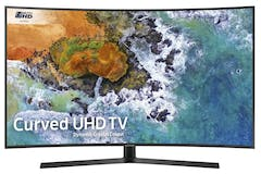 "Samsung 55"" 4K UHD HDR Curved Smart LED TV 