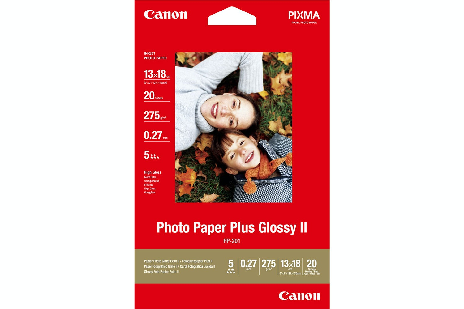 Canon Photo Paper Plus Glossy 2 - A4
