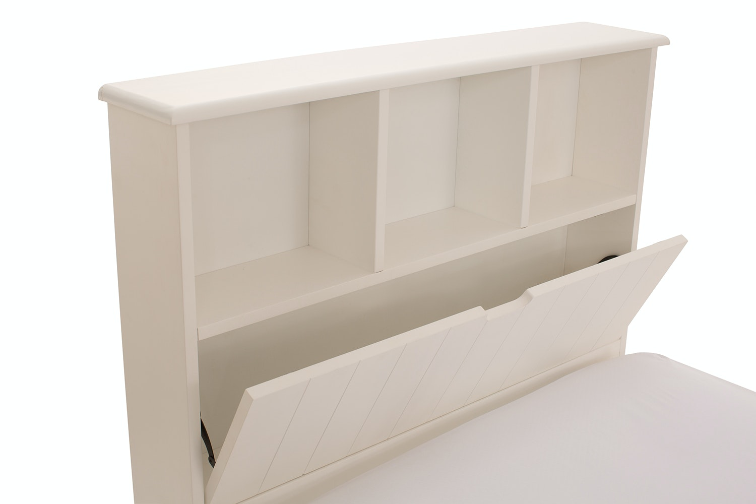 Shaker Bed with Storage Headboard | 3Ft