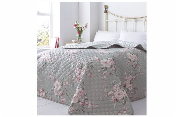 Cantenbury Bedspread | Grey