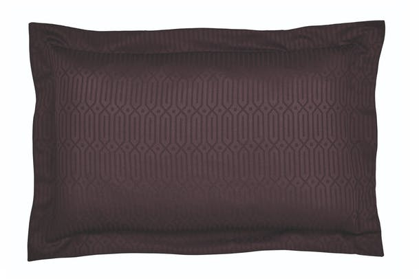 Rivage Oxford Pillowcase | Damson