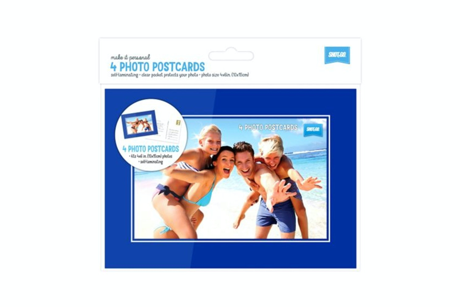 Shot2Go Photo Postcard | 4 Pack