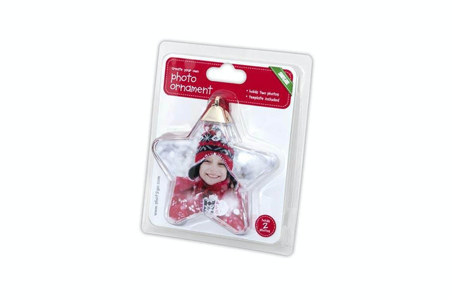 Shot2Go Star Photo Ornament