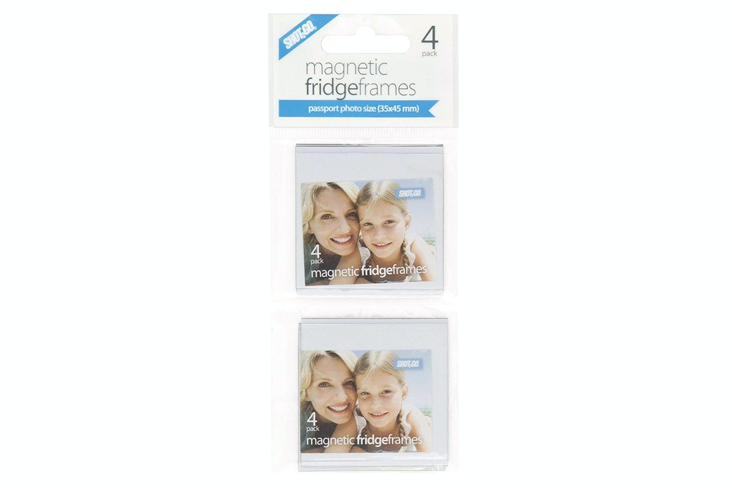 Shot2Go Passport Size Fridge Frame | 4 Pack