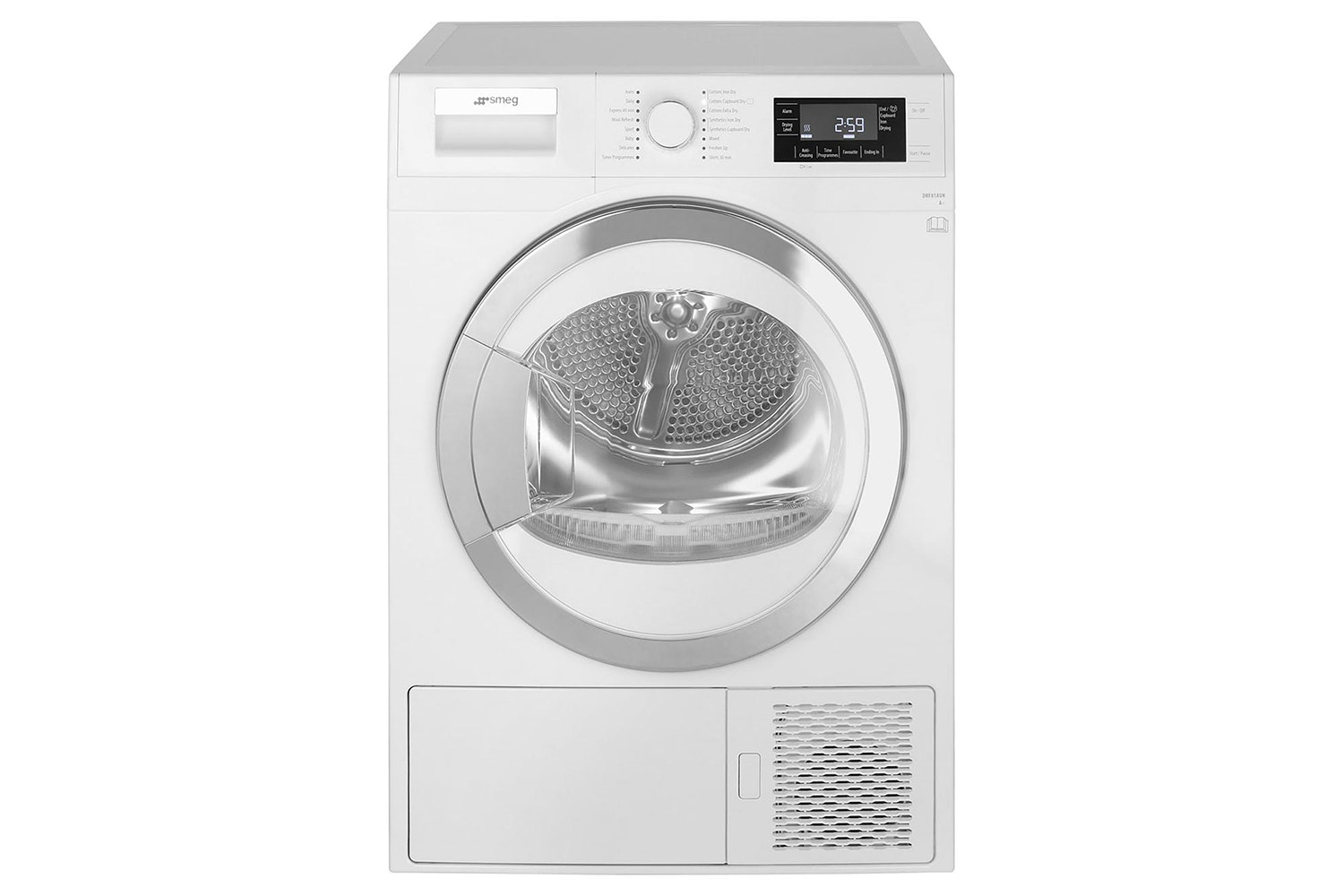Smeg 8kg Heat Pump Condenser Tumble Dryer | DRF81AUK