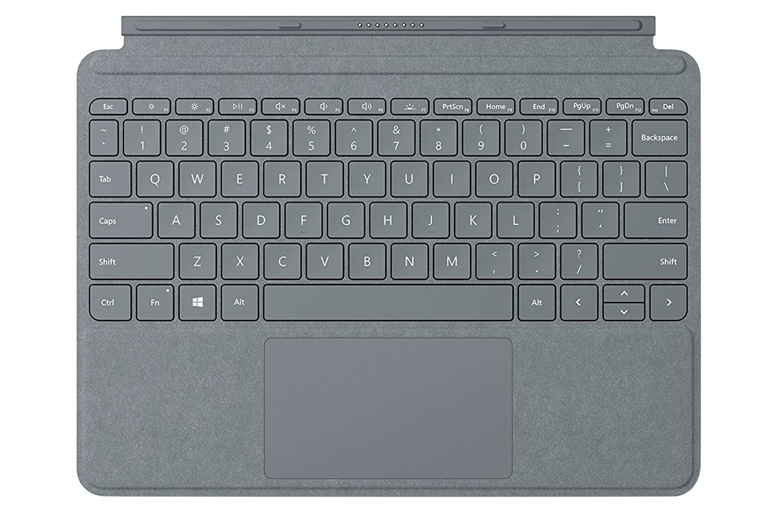 Surface Go Signature Type Cover | Platinum