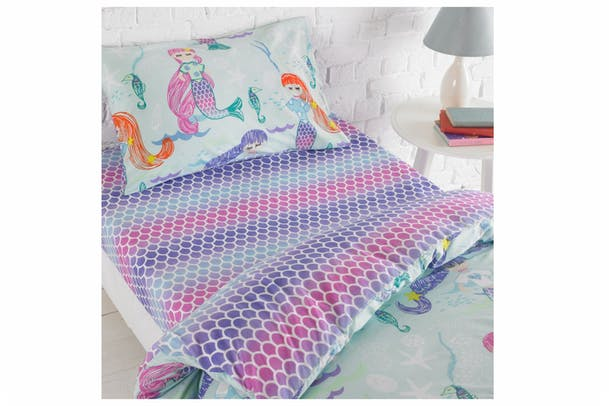Mermaid Fitted Sheet | Single