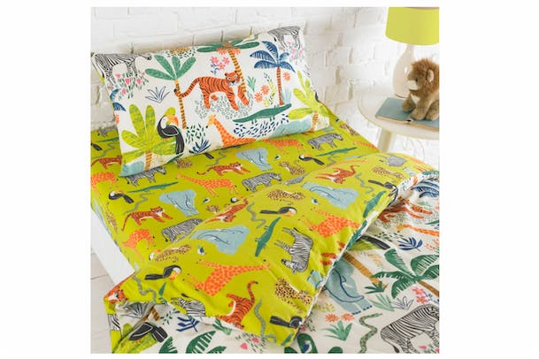 Jungletastic Fitted Sheet | Double
