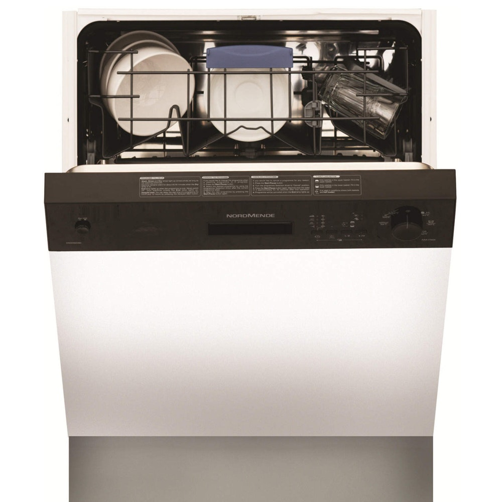 Nordmende Semi Integrated Dishwasher | 12 Place | DSSN61BL