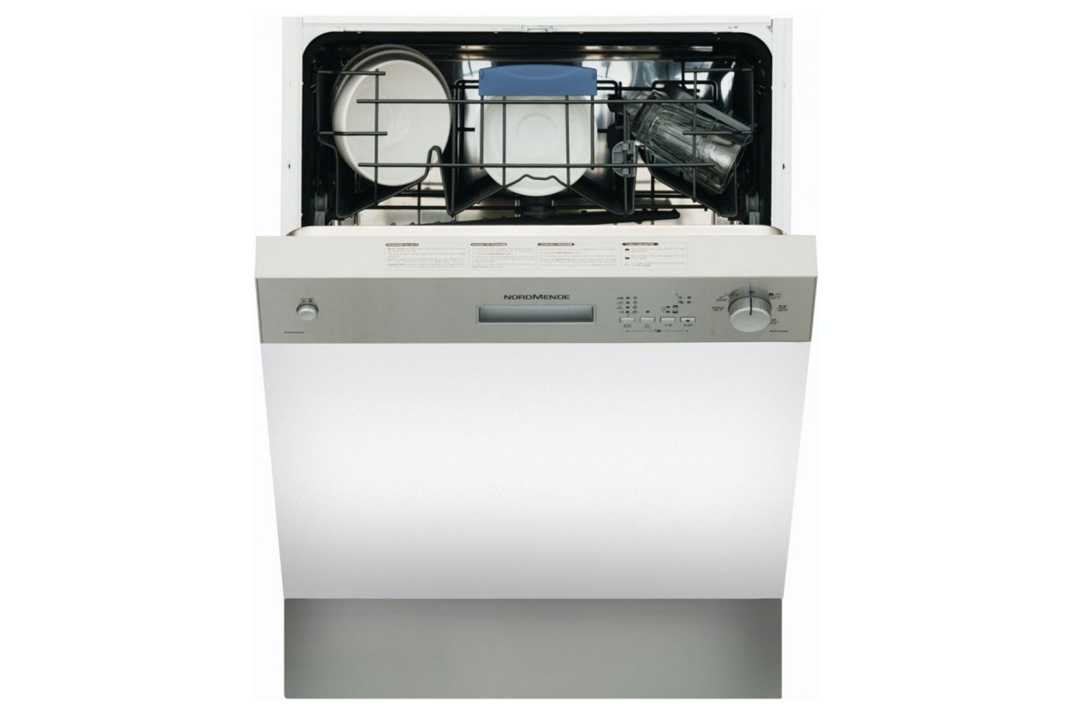 Nordmende Semi Integrated Dishwasher | 12 Place | DSSN61IX