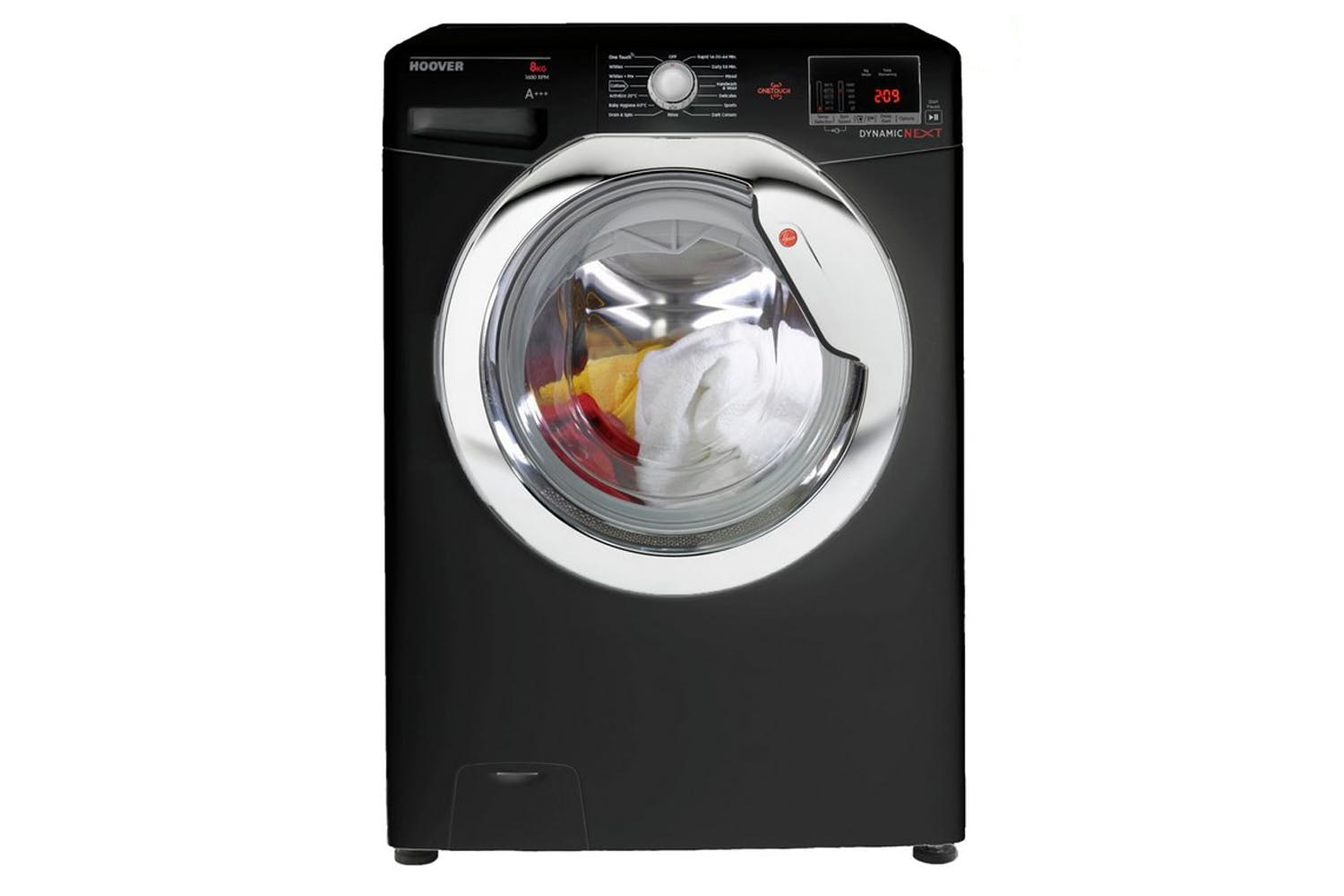 Hoover Dynamic Next 8kg Washing Machine | DXOC68C3B/1-80