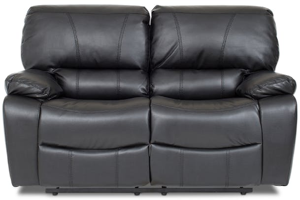 Cooper 2 Seater Recliner | Black