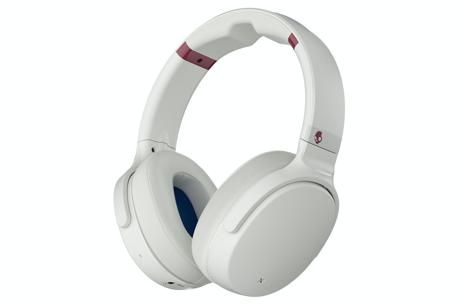Skullcandy Venue Noise Cancelling Headphones | White/Crimson