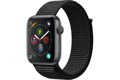 Apple Watch Series 4 Space Grey Case with Black Sport Loop | 44mm