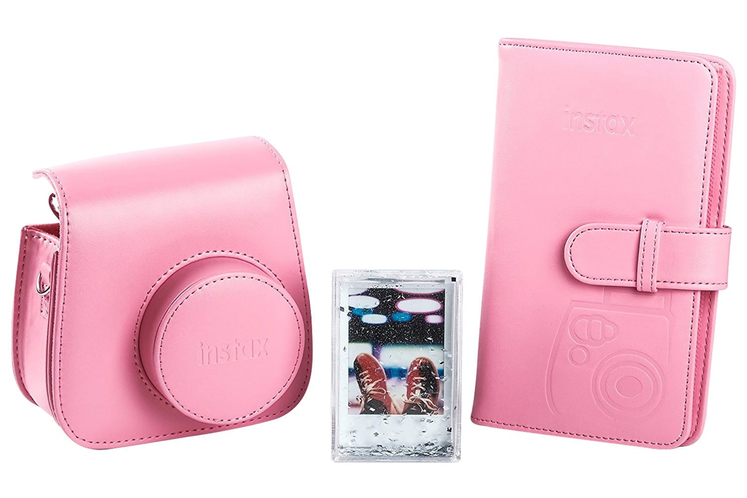 Fujifilm Instax Mini 9 Accessory Kit | Flamingo Pink