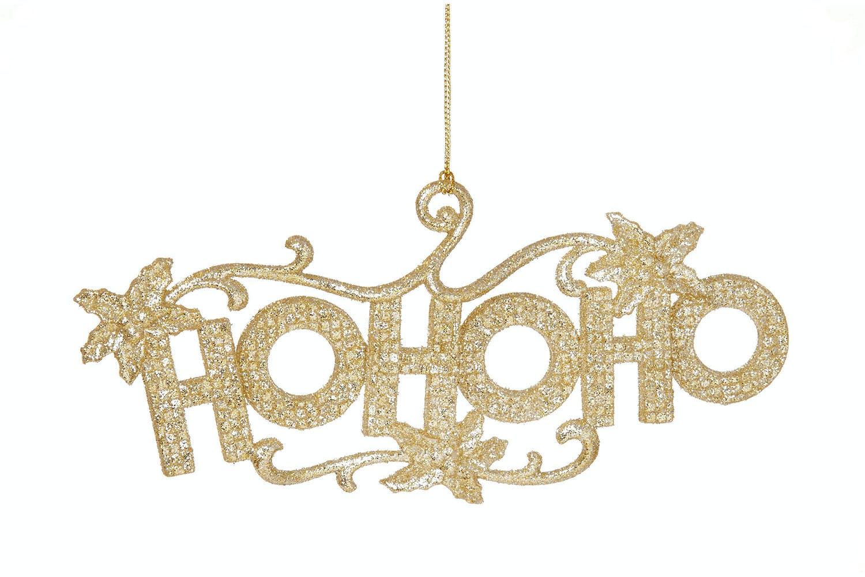 Christmas Gold Glitter Ho Ho Ho | Ireland