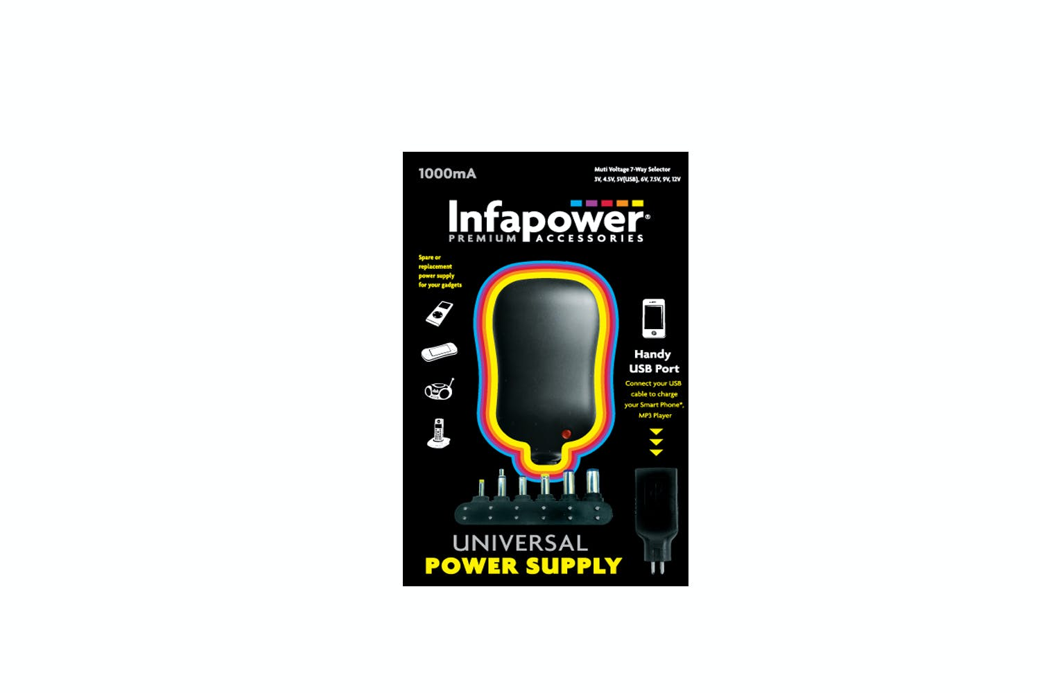 Infapower 1000mA Universal Power Bank