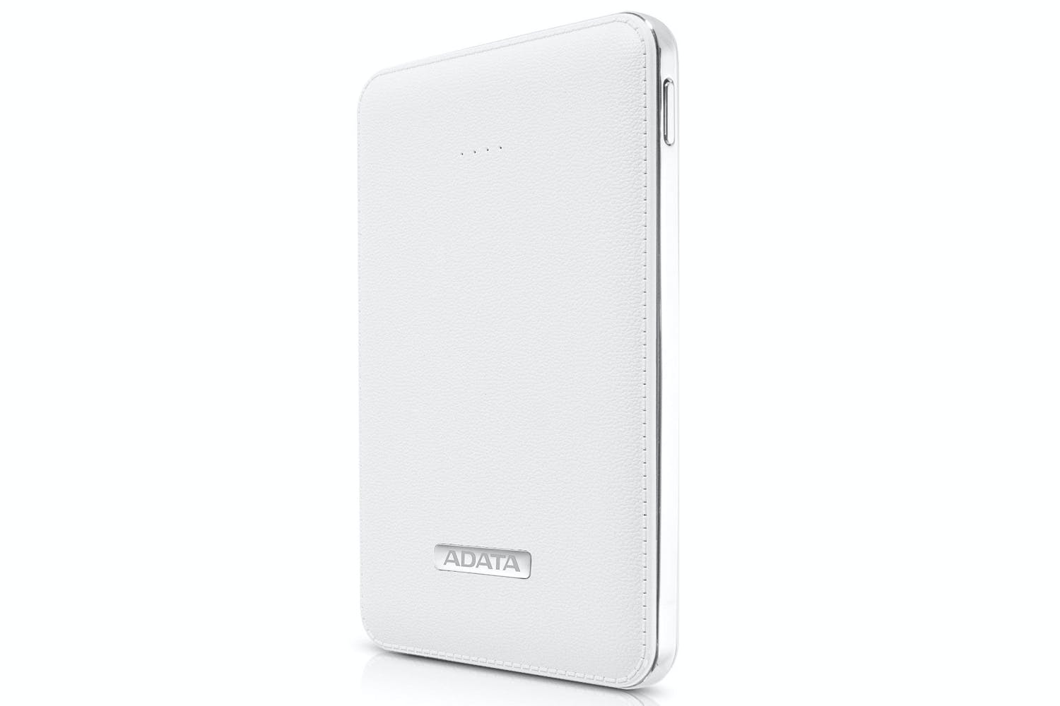 Adata 5100mAh Leather Power Bank | White
