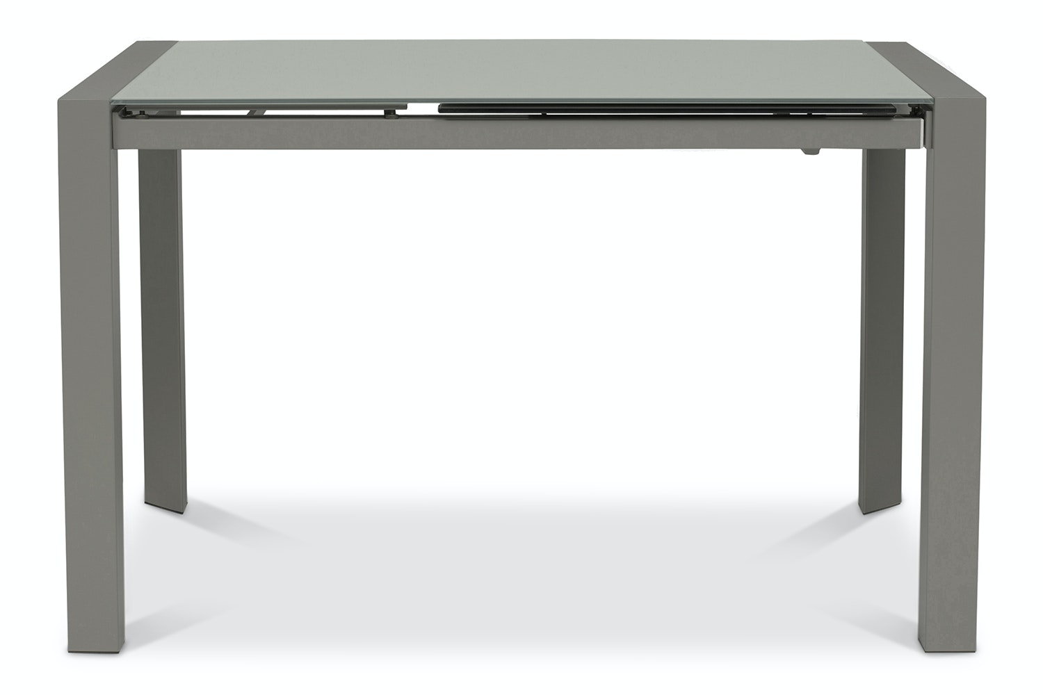Slide Extending Dining Table 122cm | Grey