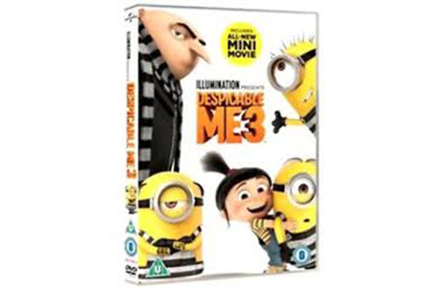 DESPICABLE ME 3 (DVD+UV)