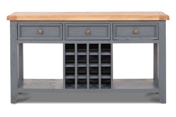 Tisbury Console Table | Wine Rack