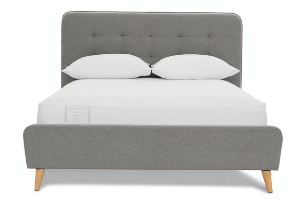 Bjorn Bedframe | 4Ft | Elephant Grey