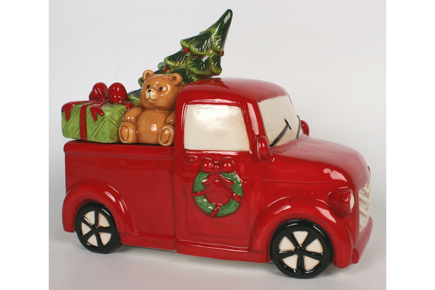Red Truck Cookie Jar