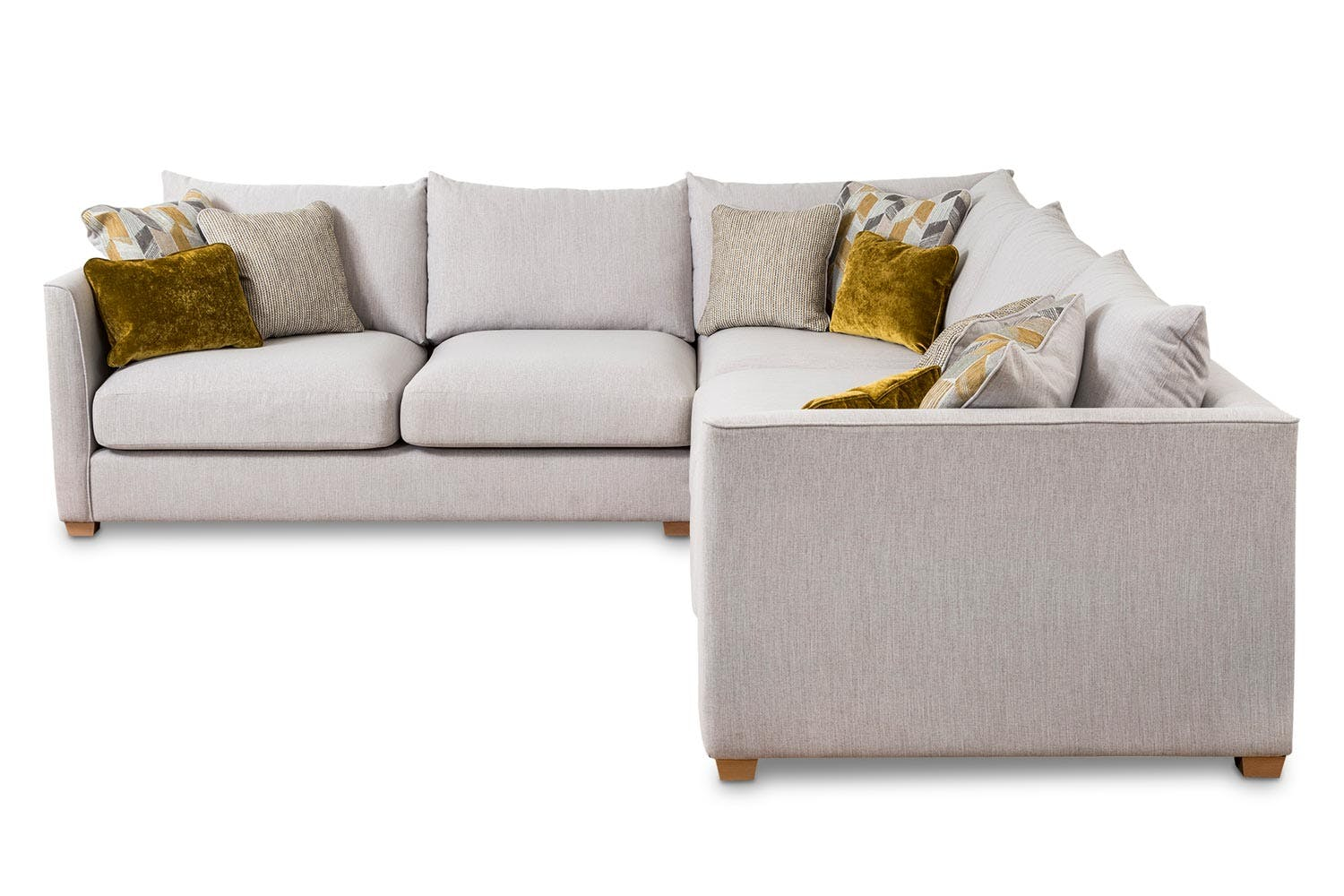 Faye Chaise Sofa | 2 Seater