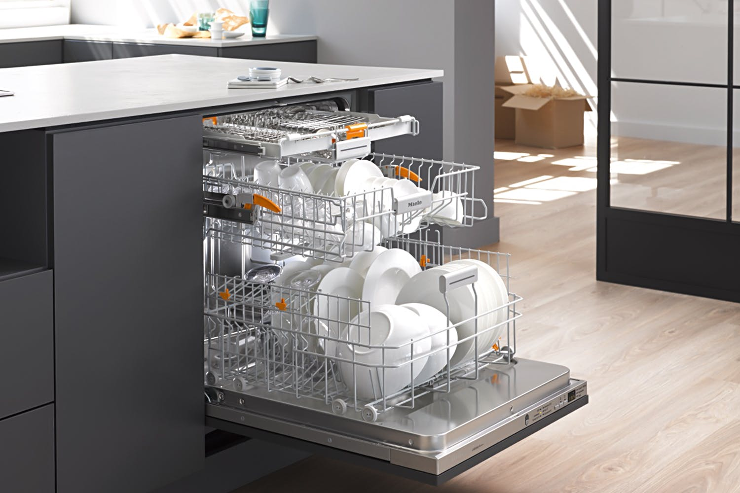 Miele G 4990 SCVi Jubilee  Fully-integrated, full-size dishwasher   with 3D cutlery tray for maximum convenience at an attractive entry level price