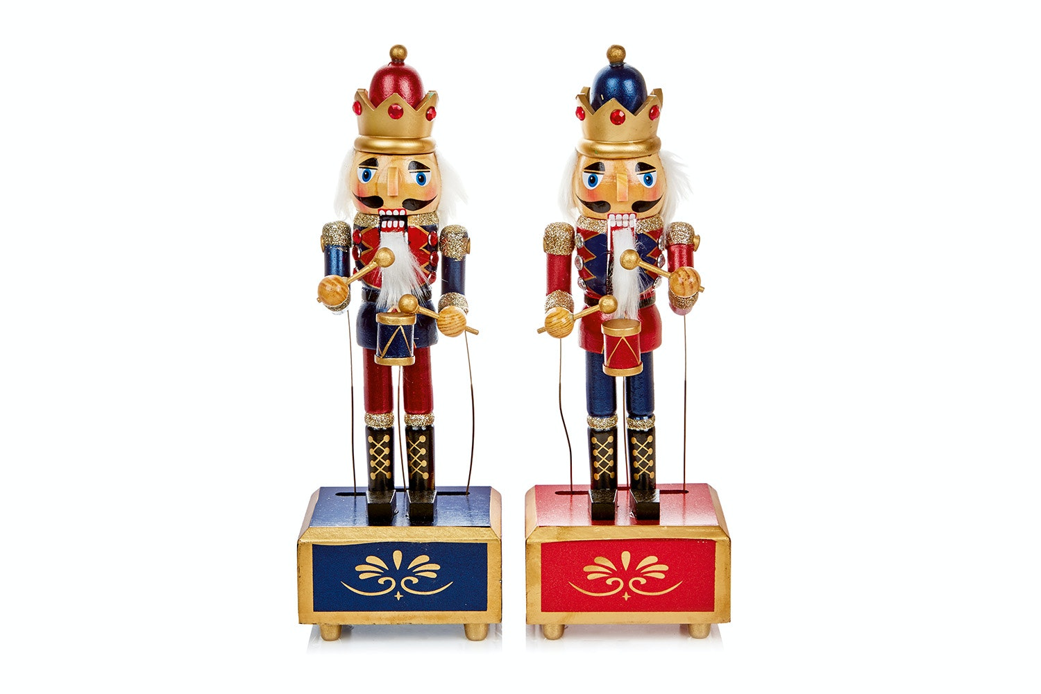 Musical Nutcracker Christmas Figure