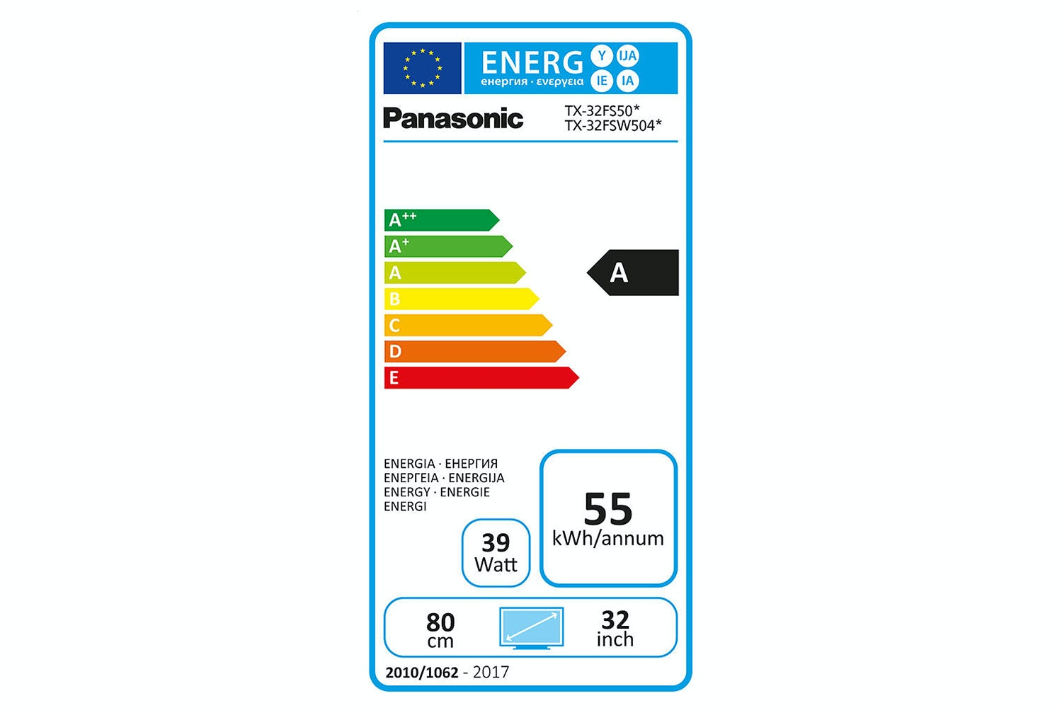 "Panasonic 32"" HD Ready Smart LED TV 